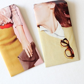 how to make envelops from old magazines #make #DIY #tutorial #craft