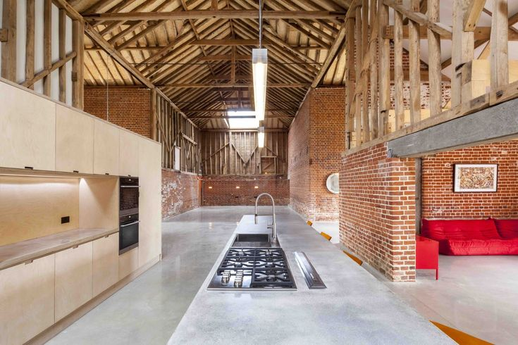 Gallery of Church Hill Barn / David Nossiter Architects - 1