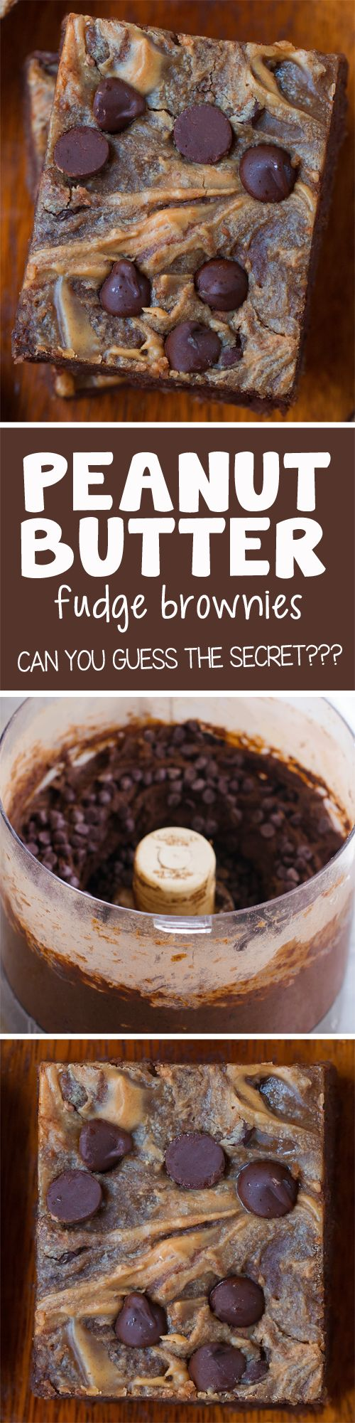 Homemade Peanut Butter Brownies!