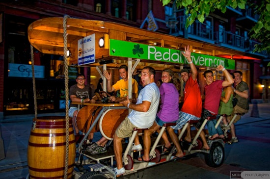 Bachelorette Party - pedal tavern in Milwaukee