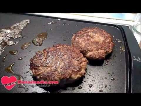 Recetas Dieta Dukan -  Hamburguesas - PP - Fase de Ataque