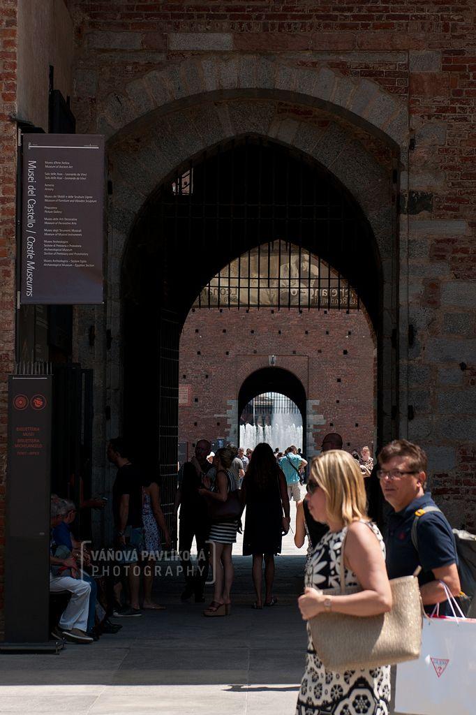 Castello Sforzesco (Milano, Italy) #Milano #milan #castello #castle #sforzesco #italy