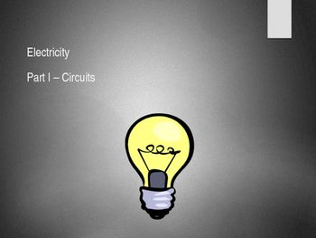 This highly visual presentation contains 67 slides which will get your students thinking about electricity, electric circuits, making circuits, drawing circuit diagrams, and measuring values in an electric circuit. Appropriate for for Year 7 up to Year 10Covers circuit components and circuit diagrams, series circuit, parallel circuit, and measuring current and voltage in series and parallel circuits.