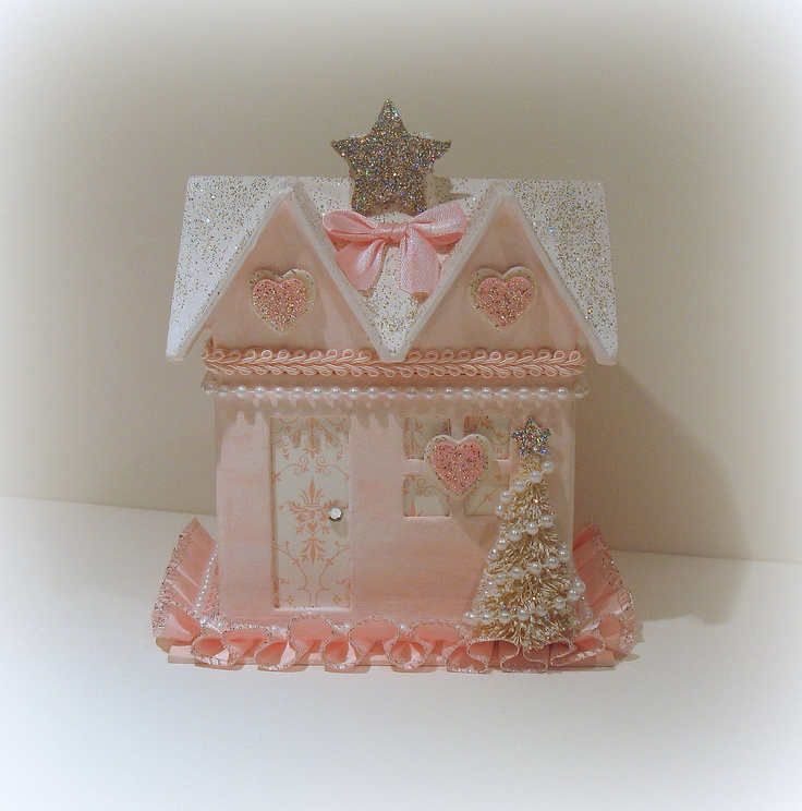 17 best images about shabby chic christmas ideas on for Shabby chic christmas