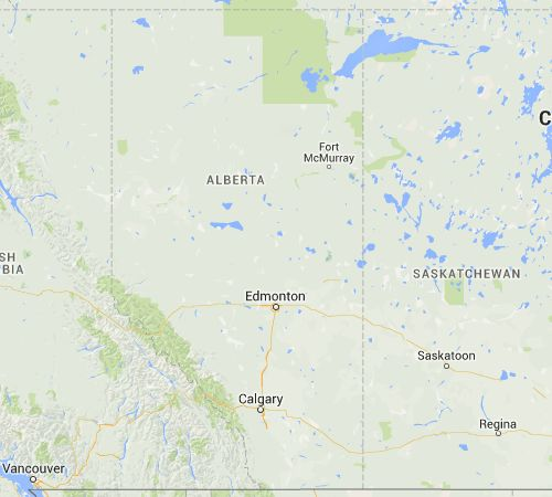 Indigenous Relations: Interactive Map from Alberta Indigenous Relations showing treaty areas and associated Nations.