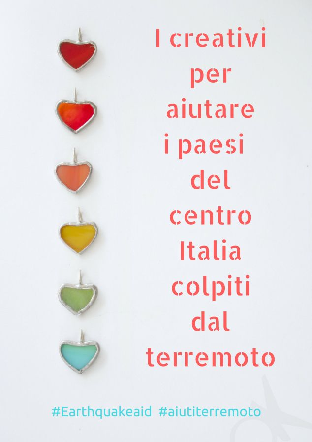 I creativi per aiutare i paesi del centro Italiacolpiti dal terremoto #eartquakeaid #aiutiterremoto https://www.etsy.com/pages/italia-team/eit-aiuto-terremoto?page=1