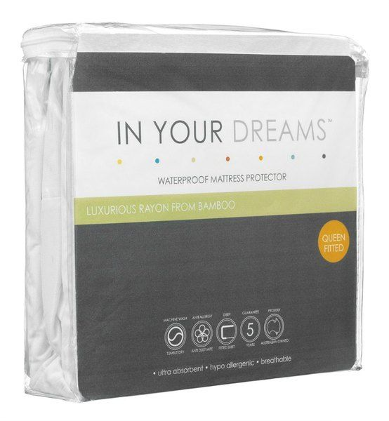 If you are looking for the most comfortable way to protect your bed you have come to the right place. The In Your Dreams mattress protector is perfect for those people who suffer from skin sensitivities, allergies or asthma as it is hypoallergenic and antibacterial. But more than being good for you, these wonderful mattress protectors will help you sleep in unbelievable comfort with thermal regulating and moisture wicking properties in the bamboo fibre.