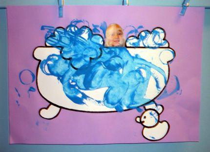in bad bubbel
