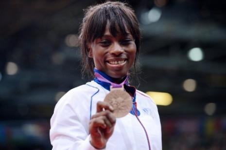 Priscilla Gneto/médaille de bronze Judo - de 52kg.