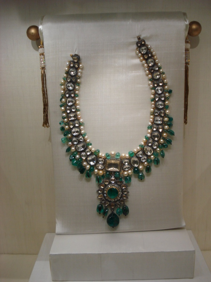 the sheer magnificence of each of the exhibited pieces is enough to leave one speechless with awe and wonder. In Hyderabad, which is keeping up to its reputation of being a happening city, the two- month long exhibition of diamonds, rubies, emeralds, sapphires and pearls, resplendent in all their glitter and colour, re-kindle memories of Hyderabad heritage. Belonging to the Asaf Jah dynasty, which was established in 1724, the jewellery has a historic past, and a colourful one at that.