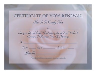 Vow renewals pink and posts on pinterest for Free printable wedding vow renewal invitations
