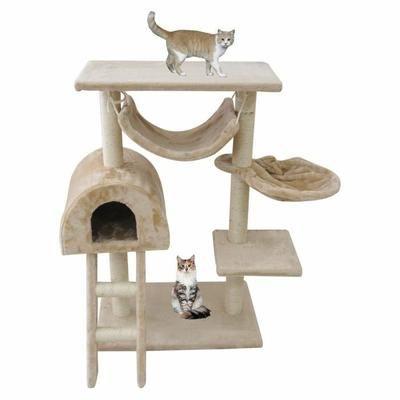 Arbre à chat avec griffoir beige - Achat / Vente arbre à chat Arbre à chat avec griffoir - Soldes* d'hiver dès le 6 janvier Cdiscount
