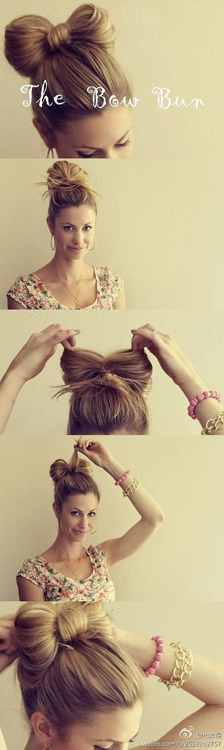 the bow hairstyle