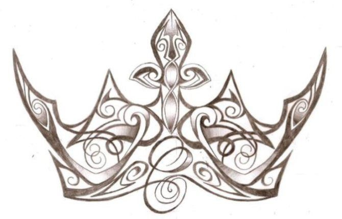 Crown Tattoo Designs - 20+ Crown Tattoos <3 <3