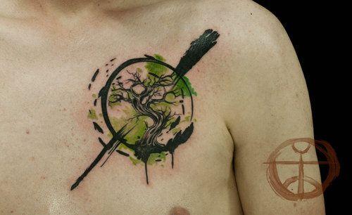 Resultado de imagen para tatuajes de bonsai