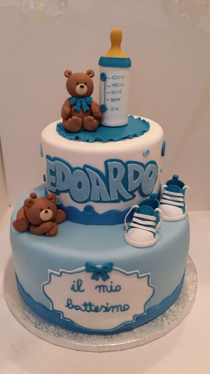 Pi di 25 fantastiche idee su torte di battesimo per - Accessori per cake design ...