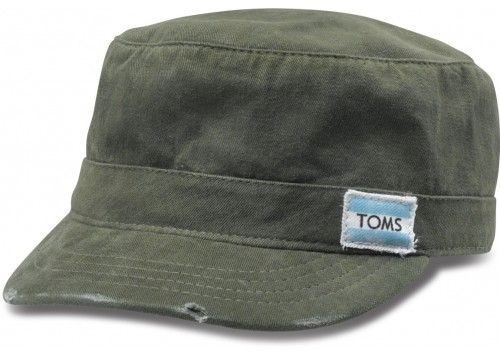 Buy this $28 dollar TOMS hat and TOMS will donate a pair of shoes to a child in need.  This includes children in America.