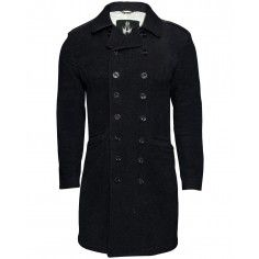 The black wool coat is an item that lasts for several winters. It is a classic colour and look and the quality is excellent.