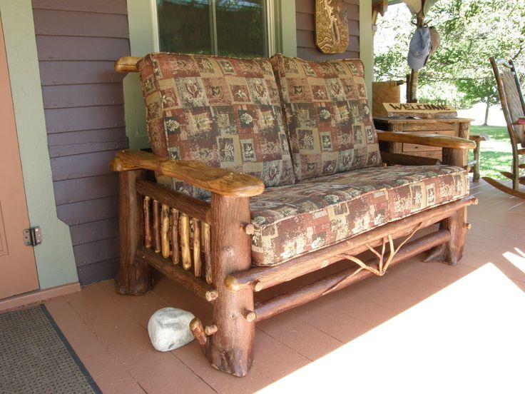 Rustic Seating | Bald Mountain Rustics