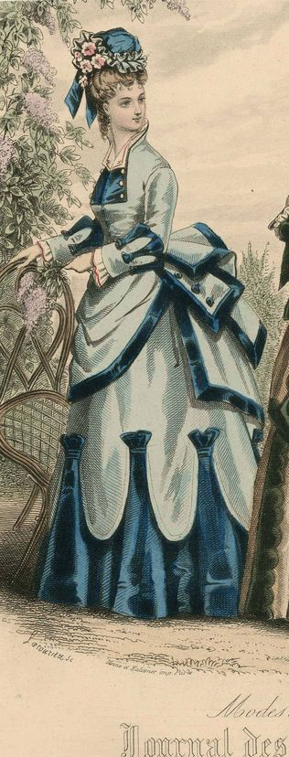 1870 gown …