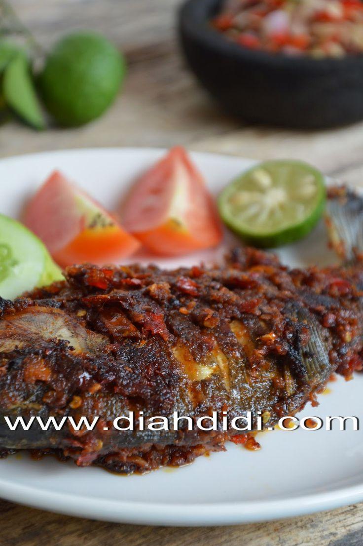 Diah Didi's Kitchen: Be Pasih Mepanggang ( Ikan Bakar Khas Bali )