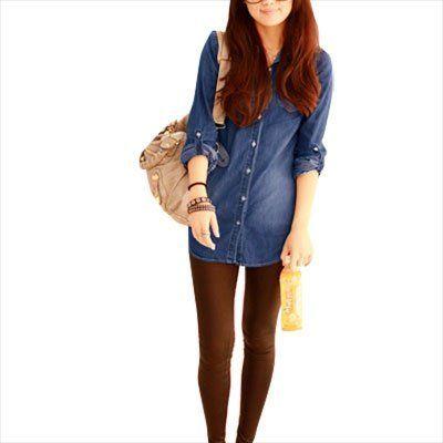 Allegra K Lady Blue Roll up Sleeve Single Breasted Shirt Jacket M Allegra K,http://www.amazon.com/dp/B008X02MM8/ref=cm_sw_r_pi_dp_R3xjrb0SDR0REND7