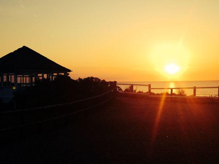Old Hunstanton sunset