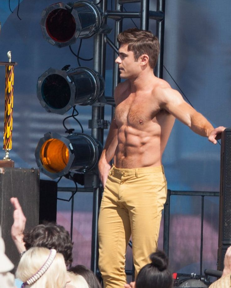 Zac Efron's Hottest Moments Over The Years