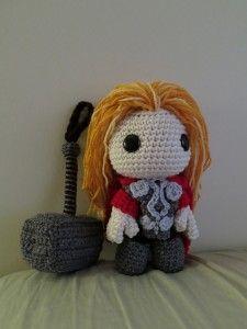 Thor sackboy by Nikki Olida