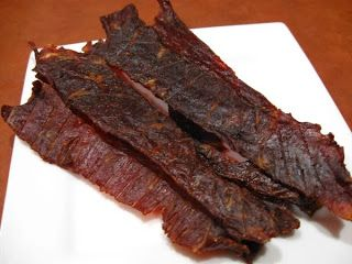 homemade beef jerky, nitrite-free. Make a good snack for fast ...