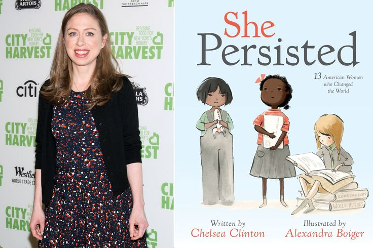 Chelsea Clinton explains why Hillary isn't in her picture book