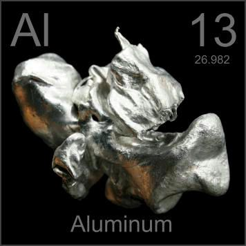 aluminum at no 13 | by pouring molten aluminum into a bucket of water. There was no ...