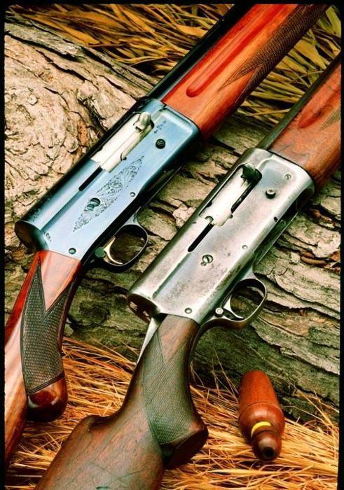 Shotguns...