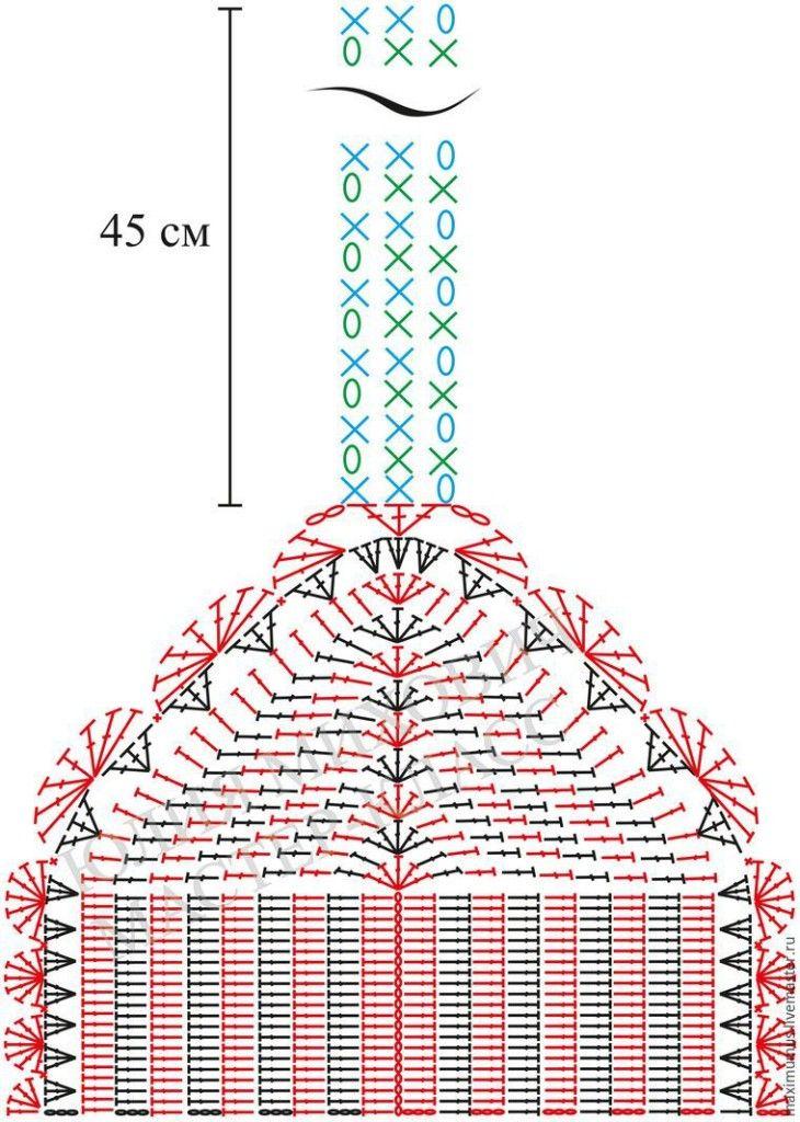 Como hacer un crop top juvenil a crochet07