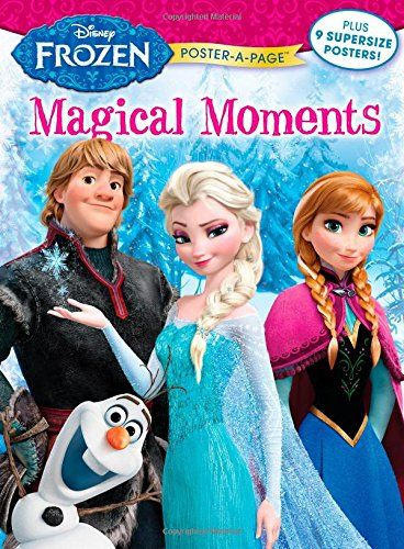 Disney Frozen: Magical Moments Poster-A-Page (Disney Frozen Poster-a-Page) @ niftywarehouse.com #NiftyWarehouse #Frozen #FrozenMovie #Animated #Movies #Kids