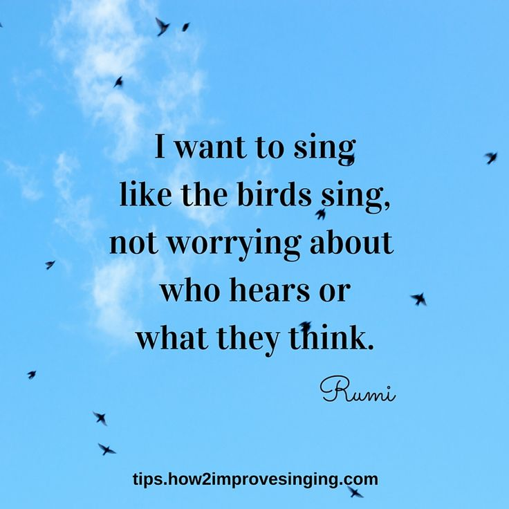 Discover 51 singing quotes that inspire here: http://tips.how2improvesinging.com/singing-quotes/