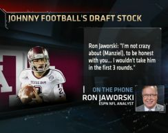 ESPN Echo Chamber fully activates with Ron Jaworski's Johnny Manziel comments