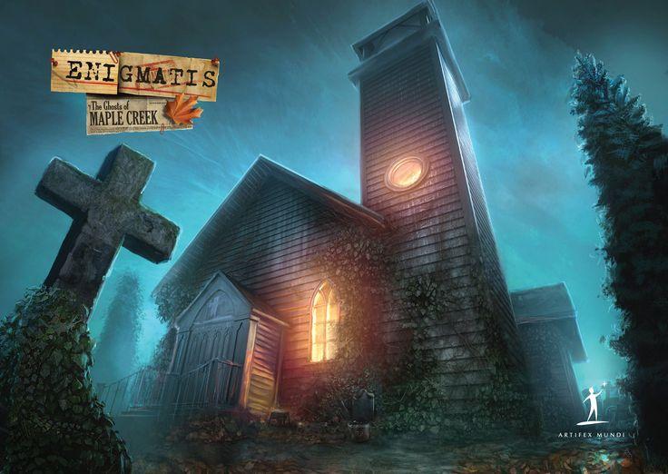 Enigmatis: The Ghosts of Maple Creek   #enigmatis #artifexmundi #adventure #game https://www.facebook.com/ArtifexMundi.Enigmatis  http://www.artifexmundi.com/page/enigmatis/