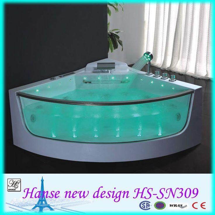 Foshan Corner Spa Bath For Jacuzzi Funtion Chromotherapy Function Hs Sn309 Jpg 800 800 Bathtubs For Small Bathrooms Bathtub Refinish Bathtub