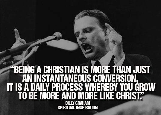 Spiritualinspiration: Billy Graham Quote
