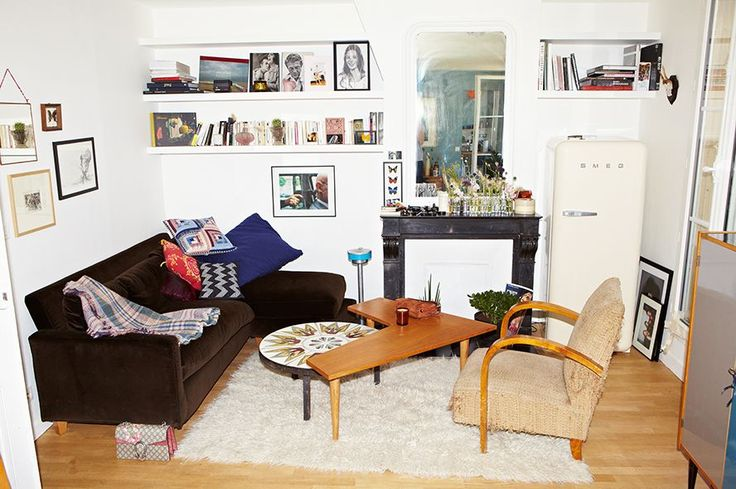A Parisian Apartment Like You've Never Seen Before #refinery29  http://www.refinery29.com/jeanne-damas-home-tour