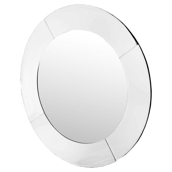 Modal Large Round Mirror