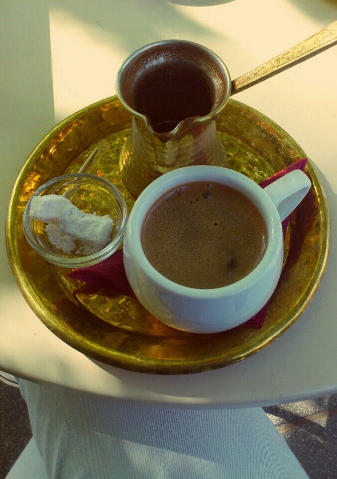 Greek coffee,ippopotamos,Thessaloniki,Greece