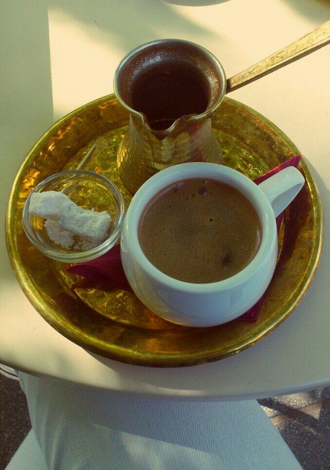 Greek coffee,ippopotamos,Thessaloniki,Greece