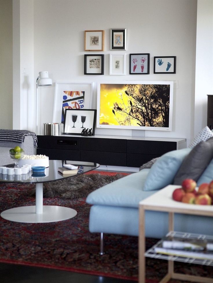 TV corner inspiration Magazyn IKEA 97