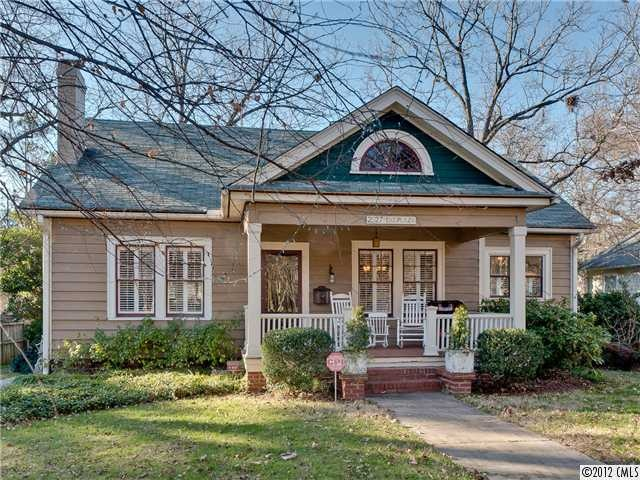 14 best images about charlotte bungalows on pinterest for Craftsman home builders charlotte nc