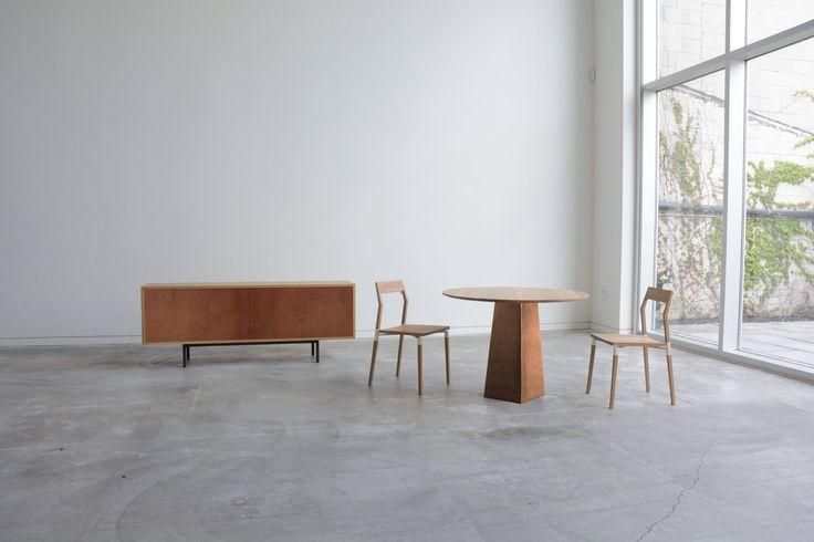 Fairbanks Sideboard, Brockton Table, Parkdale Chairs