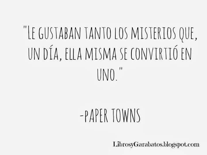 Paper Towns - Jhon Green