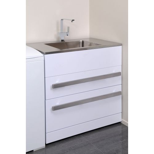 Best Laundry Tub : laundry sinks ... LaundraMax900 Laundry Tub with Stainless Top ...