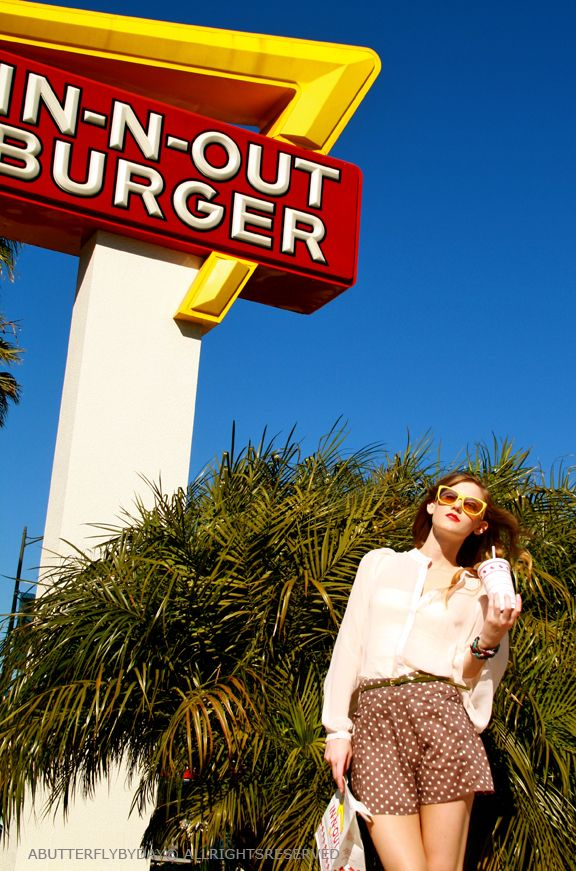 IN-N-OUT BURGER -- It's sad that this is on my travel wish list. Move east!